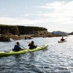 Sea Kayaking In West Cork, Ireland, Atlantic Sea Kayaking, Paddling, Double kayak, Sit on top kayak, Ocean kayak, Canoeing, Family trips, Coastal trips, Reen Pier, Castletownshend, Promotional Photographs, PR Photographs,